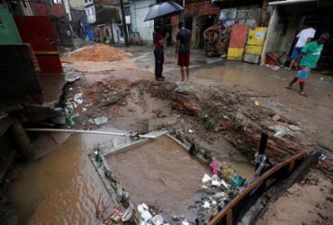 Devido às fortes chuvas, mais de 630 ocorrências são registradas em Salvador | Adilton Venegeroles | Ag. A TARDE