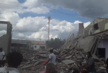 Explosão em loja de fogos de artifício deixa feridos em Crisópolis