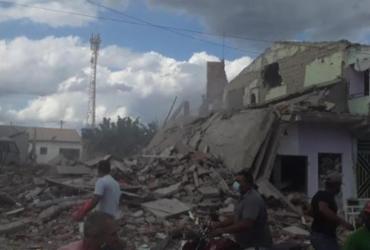 Dez residências sofreram danos com a explosão em Crisópolis e 22 foram liberadas