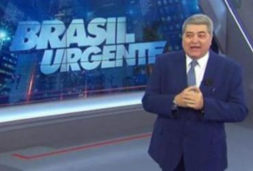 'Agrediu a democracia', dispara Datena, ao vivo, em crítica a Bolsonaro | Reprodução