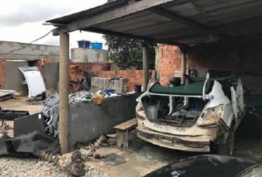 Suspeito de atuar em desmanche de veículos roubados é preso em Feira de Santana
