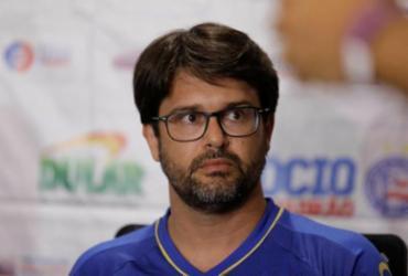 Presidente do Bahia revela busca por centroavante | Tiago Caldas | Ag. A TARDE