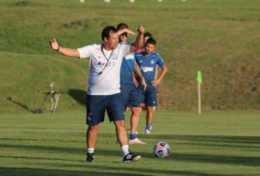 Em solo uruguaio, Bahia realiza último treino antes de estreia na Sul-Americana | Vitor Tamar | EC Bahia