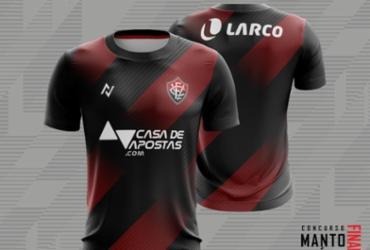 Vitória anuncia camisa vencedora do primeiro concurso 'Manto do Sócio' | Divulgação | EC Vitória