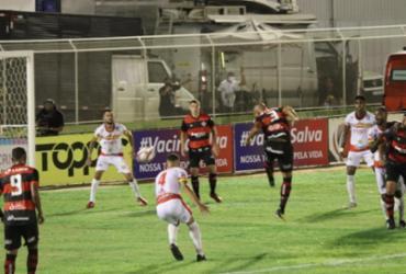 Vitória sai na frente, mas leva empate da Juazeirense pelo Baianão | Carlos Humberto | Agência CH