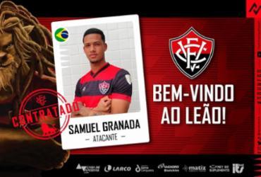 Atacante Samuel Granada é anunciado oficialmente como reforço do Vitória | Divulgação | EC Vitória