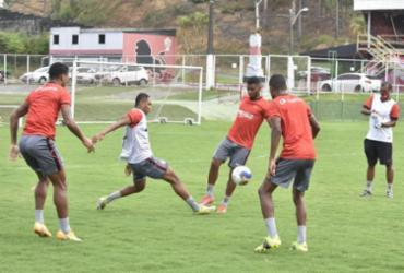 Vitória se reapresenta e terá desfalques importantes para duelo contra o Ceará |