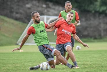Com retorno de Vico, Vitória se reapresenta com foco na Juazeirense | Pietro Carpi | EC Vitória