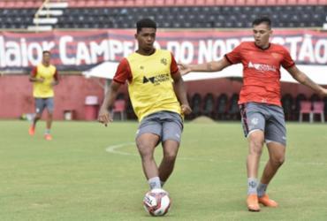Vitória encerra preparação para enfrentar a Juazeirense pelo Baianão | Pietro Carpi | EC Vitória