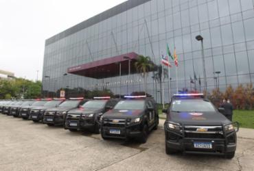 Governador reforça segurança de 15 municípios com entrega de 50 viaturas