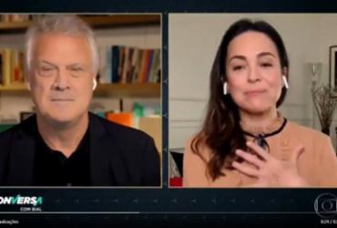 Em entrevista a Bial, Gabriela Duarte desabafa sobre apoio da mãe a Bolsonaro | Reprodução