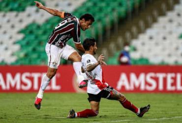 Libertadores: Fluminense arranca empate com River na estreia   Lucas Mercon   Fluminense
