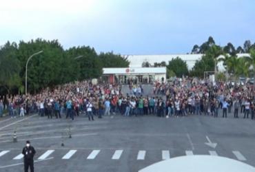 Funcionários da LG recusam indenização e fazem greve em Taubaté-SP | Reprodução