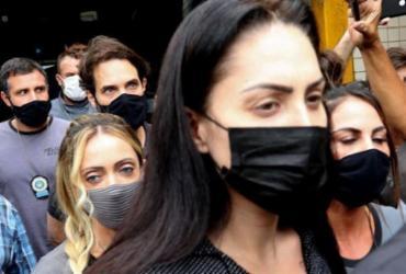 Defesa de Monique diz que ela já foi agredida e enforcada por Dr. Jairinho   Reprodução