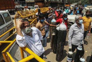 Alta de casos de Covid na Índia vai atingir prazos de vacinação no Brasil | Reprodução