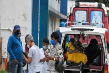 Pelo 4° dia seguido, Índia bate recorde de novos casos da Covid-19 | Reprodução