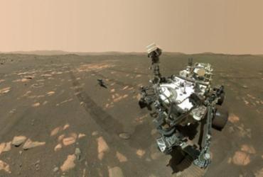 Helicóptero da Nasa está pronto para primeiro voo em Marte | Nasa via AFP