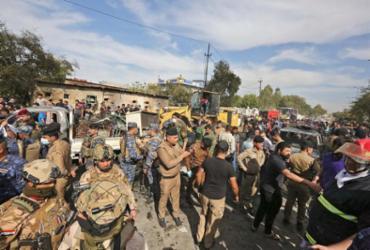 Cinco foguetes atingem base iraquiana com tropas dos EUA | Sabah Arar | AFP
