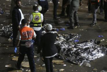 Tumulto durante peregrinação deixa dezenas de mortos em Israel | David Cohen | AFP