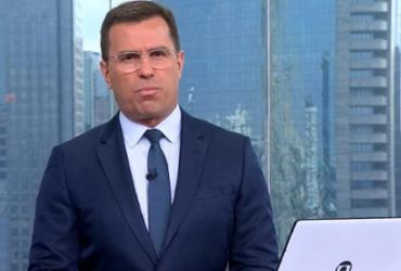 Jornalista Bocardi ironiza acusação de xenofobia: 'Não pode nem respirar mais' | Reprodução | TV Globo