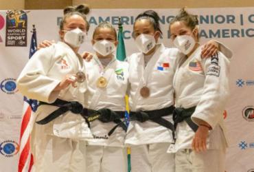 Com três campeões, Brasil vai sete vezes ao pódio no Pan de judô |
