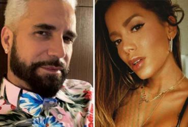 Latino relembra briga com Anitta: 'Saí chorando da casa dela' | Reprodução