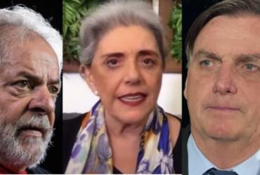Jornalista Leda Nagle reproduz fake news de que Lula mataria Bolsonaro | Reprodução