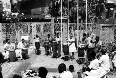 Mestre Gamo da Paz participa de live do projeto Rum Alagbê   Divulgação