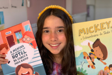 Escritora mirim baiana participa de live sobre literatura infantil | Arquivo Pessoal