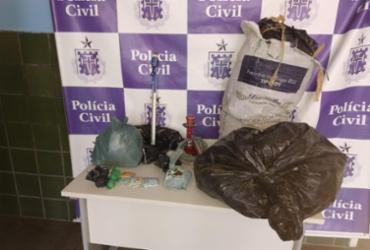 Dois homens são presos com cerca de 20 kg de maconha em Senhor do Bonfim