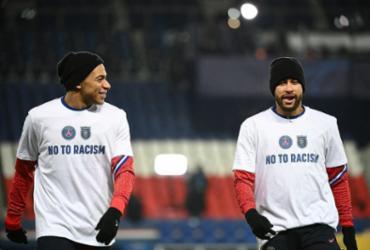 PSG conta com entrosamento de Neymar e Mbappé para avançar Liga dos Campeões | Franck Fife | AFP