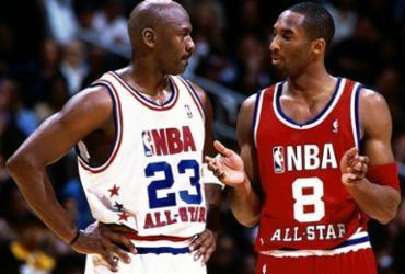 Michael Jordan vai apresentar Kobe Bryant em indução ao Hall da Fama | Reprodução | NBA