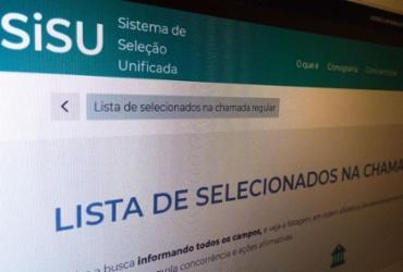 Prazo para matrículas em chamada única do Sisu começa nesta segunda | Agência Brasil