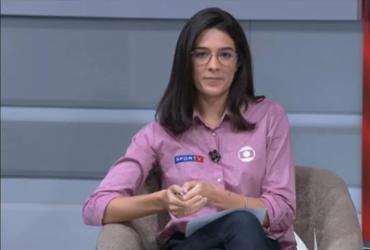 Narradora do SporTV é alvo de machismo e rebate: 'Isso é gasolina para mim' | Reprodução | SporTV