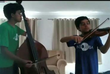 Neojiba oferece cursos de música via internet | Neojiba | Divulgação