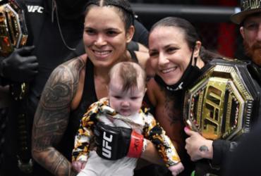 Esposa de Amanda Nunes, Nina passará a lutar com sobrenome da brasileira | Divulgação | UFC