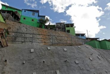 Obras de contenção de encostas são entregues em São Marcos | Fernando Vivas | GOVBA
