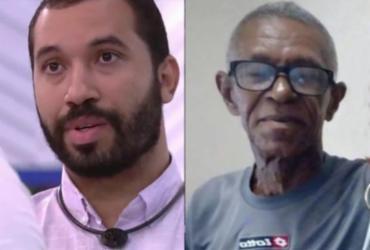 Pai de Gil do BBB 21 reaparece após 15 anos de abandono: 'Muito orgulho' | Reprodução | TV Globo | Acervo Pessoal