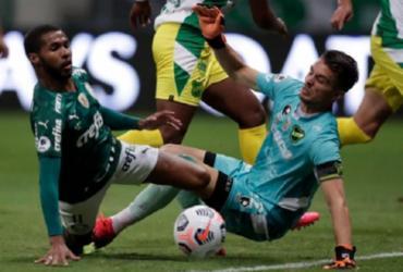 Palmeiras cai outra vez nos pênaltis e Defensa conquista a Recopa | Reprodução | Twitter | Conmebol