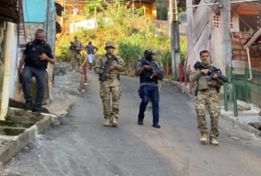Polícia investiga tiroteio no bairro de Pernambués | Divulgação | SSP-BA