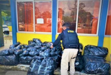 Após perseguição policial, PRF apreende 266kg de maconha em Abrantes