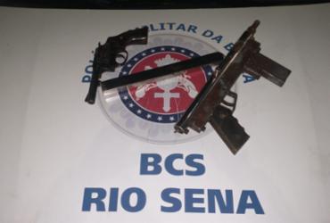 Suspeito morre e outro é preso após confronto com a polícia em Rio Sena | Divulgação | SSP