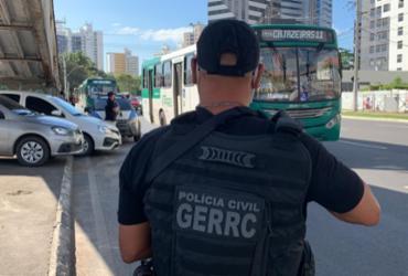 Com mandado em aberto, homem é preso em ponto de ônibus na Aquidabã |