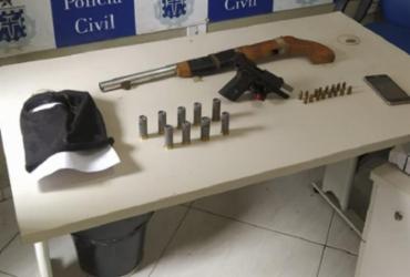 Polícia prende suspeito que planejava ataque a grupo rival em Castro Alves