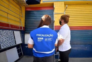 Salvador tem 36 estabelecimentos interditados no fim de semana | Jefferson Peixoto | Secom PMS