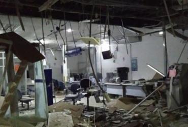 Criminosos explodem agência bancária em São Gonçalo dos Campos