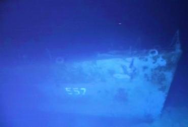 Navio americano da Segunda Guerra Mundial é encontrado nas Filipinas | Caladan Oceanic | Via AFP