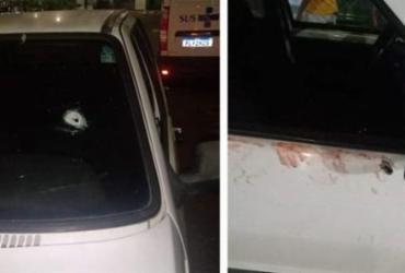 Policial e agente de segurança são baleados durante tentativa de assalto em Simões Filho
