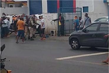 Soldado PM morre durante assalto no Resgate | Reprodução | Redes Sociais