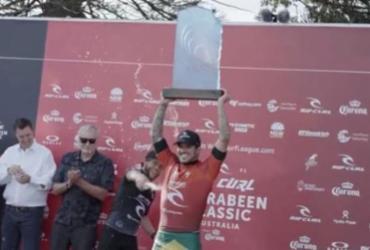 Gabriel Medina é campeão em Narrabeen, na Austrália | Reprodução | Redes Sociais